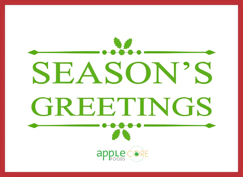 Seasons greetings from applecore foods applecore foods seasons greetings from applecore foods m4hsunfo Gallery